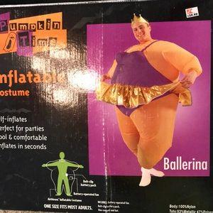Halloween inflatable costume Ballerina